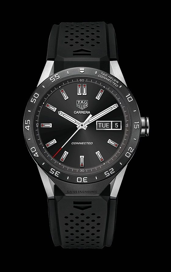 """TAG Heuer Launches TAG Heuer Connected, """"World's Smartest Luxury Watch"""" 