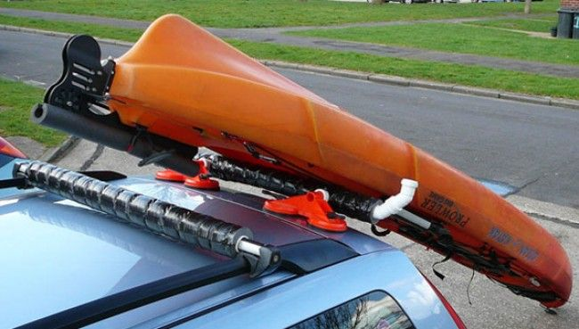 Diy Kayak Rear Loading Bar Paddle Board Pinterest