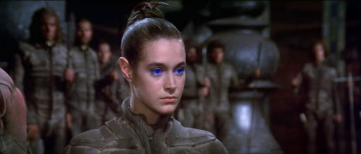 Dune. David Lynch. The (studio enforced) editing that disgusted Lynch makes the feature clunky, but the sets, costumes and scale make this a wonderful film and as close as early 80s cinema could get to Herbert's original vision.