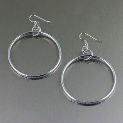 New Phenomenal Chased Aluminum Rim Hoop Earrings from John S Brana Handmade Jewelry https://www.aluminum-jewelry.com/aluminum-jewelry/aluminum-earrings/chased-aluminum-rim-hoop-earrings-from-john-s-brana-handmade-jewelry