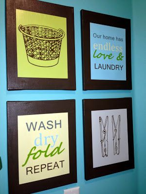 Learning at His Feet: Clutter Crushing ~ The Laundry Room