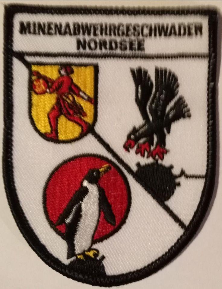Patch GE Navy MCM Squadron North Aufnaeher Minenabwehrgeschwader Nordsee