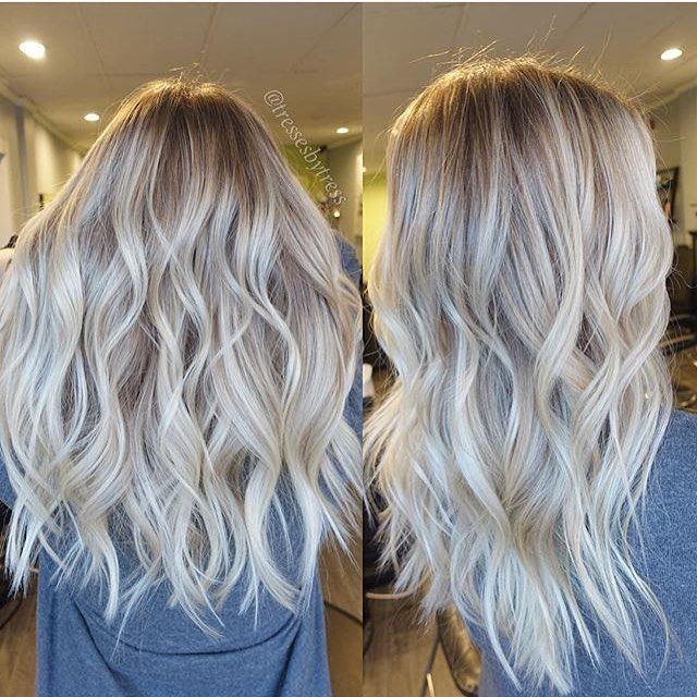 balayage highlights newandnow blonde on Instagram