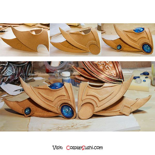 Shoulder Armor DIY  Follow Cosplay Sushi for more cosplay ideas! #cosplaysushi #cosplay #anime #otaku #shoulder #diy #easy #tutorial #armor #cosplayer #cool #accesories #awesome