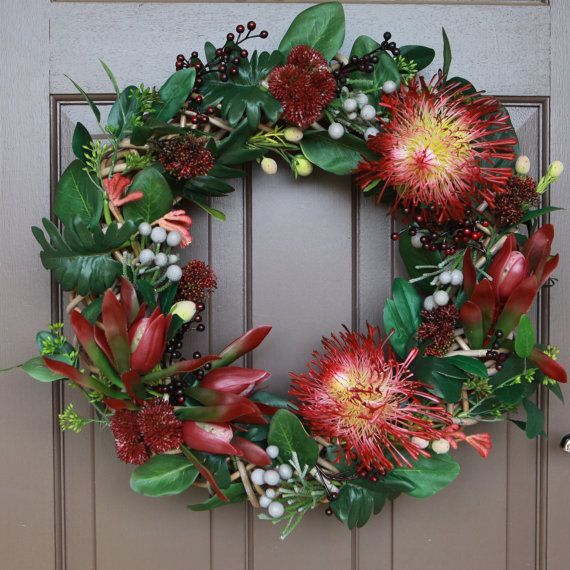 Floral Wreath, Christmas Wreath, Wreath, Wedding Wreath, Australia Native…