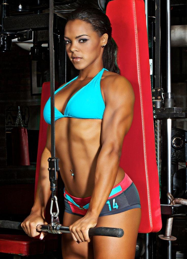Hot Fit Black Women  Hot-Fitness-Girlshot Fitness Babes -6143