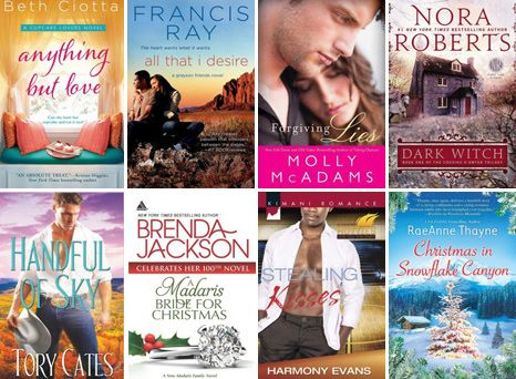 October 2013 Contemporary Romance Novel New Releases Shopping List by Team H & H