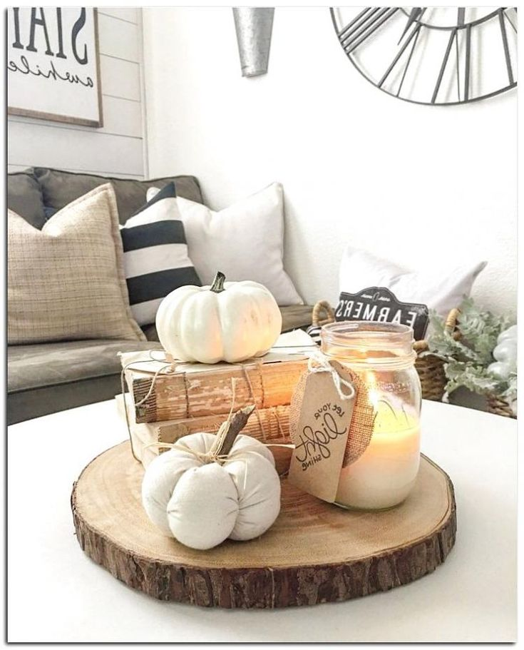 40 Amazing Fall Coffee Table Decorations Ideas