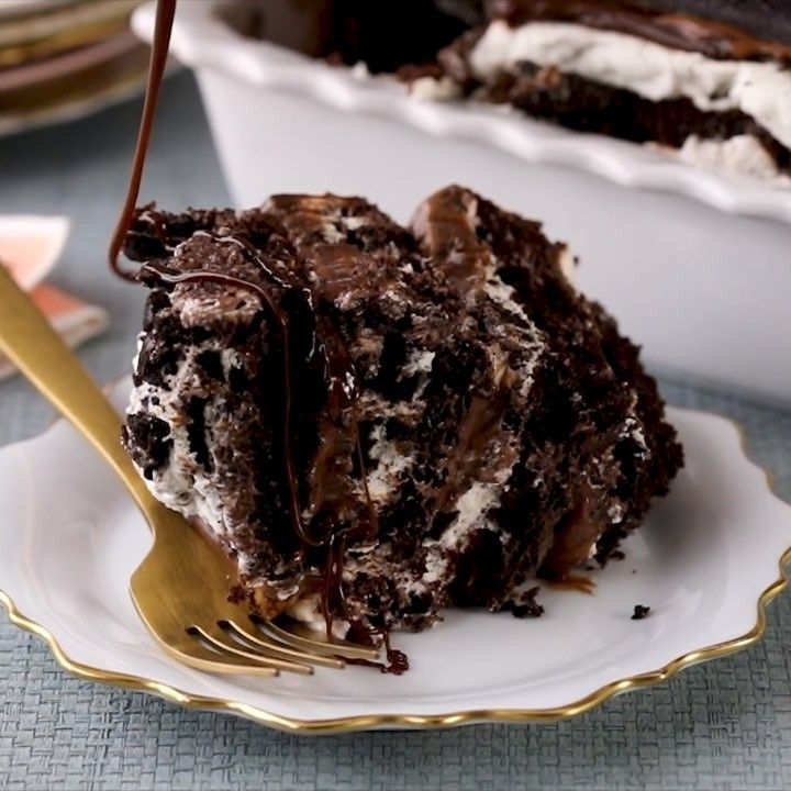 Better Homes Gardens On Instagram Who Doesn T Love A Good Dessert Lasagna This Cookies And Cream Mash Dessert Recipes Fun Desserts Dessert Recipes Easy