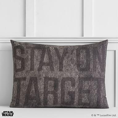 Star Wars(TM) Space Chase Sham, Standard, Charcoal