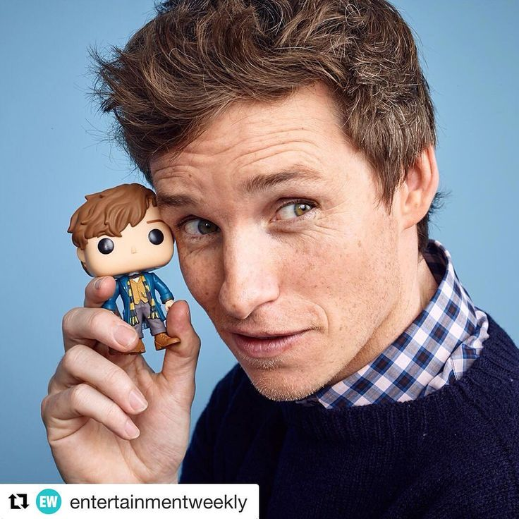 #Repost @entertainmentweekly with @repostapp ・・・ What did you say Newt Scamander?  Eddie Redmayne is 1000% adorable in our #EWComicCon photo studio. #SDCC : @matthiasclamer (Photo direction: @rmaltz and @alison_wild)