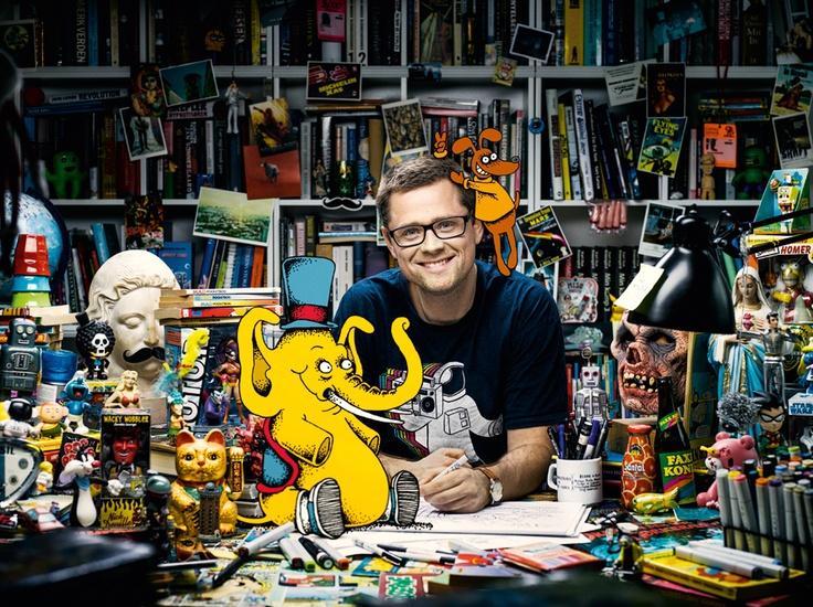 Working on 'Dog and Elephant' Photographer Michael Langhoff http://www.michaellanghoff.com/