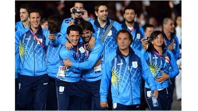 Este es los atléticos de Argentina en los Juegos Olímpicos.