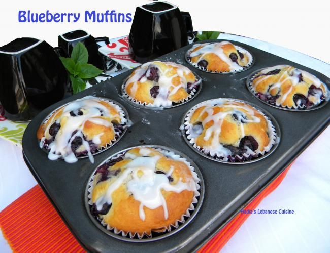 Blueberry Muffins image 1