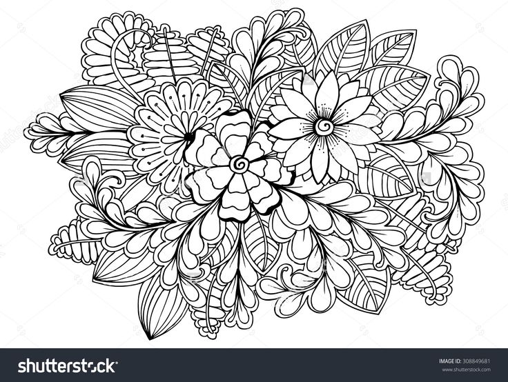 The 17 best images about Coloring Pages on Pinterest Flower
