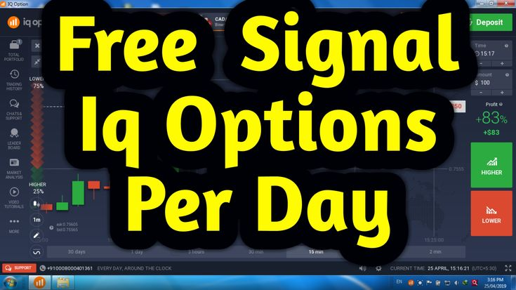 Iq Option Trading Free Signals Per Day Bianary Option Trading