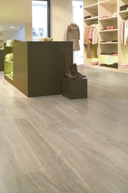White Laminate Flooring | Quick Step White Varnished Oak MAJ915 Majestic White Laminate