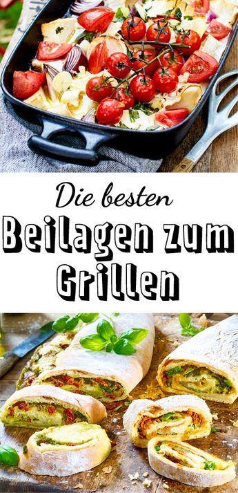 Beilagen Zum Grillen Salate Dips Und Co Essen Pinterest