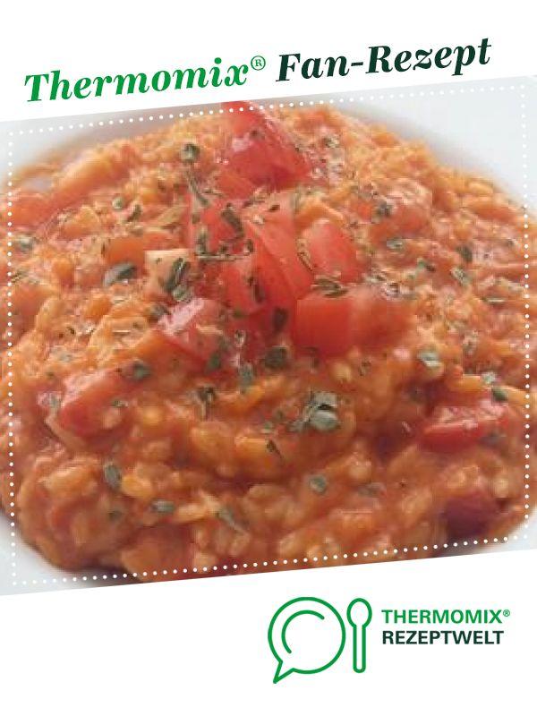 tomaten mozzarella risotto