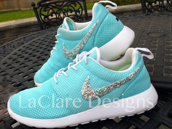 Swarovski Bedazzling Nike Roshe Run PackageShoes by LaClareDesigns by Bridgette Cobena, $55.00