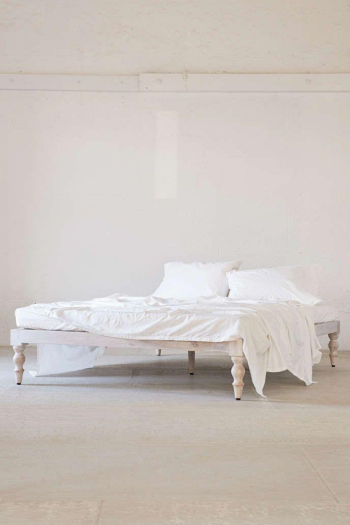 Bohemian Platform Bed   Minimalist home decor, Bed ... on Modern Boho Bed Frame  id=93151