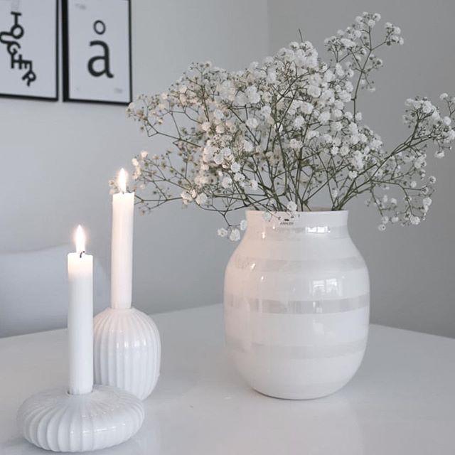 God morgen @hvitelinjer har tatt dette nydelige bildet av Omaggio vasen hun vant…