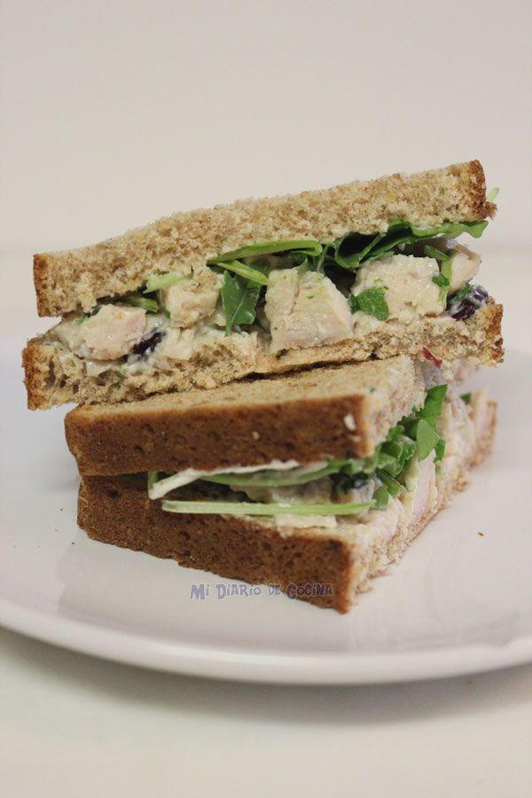 Mi Diario de Cocina   Sandwich de pollo   http://www.midiariodecocina.com