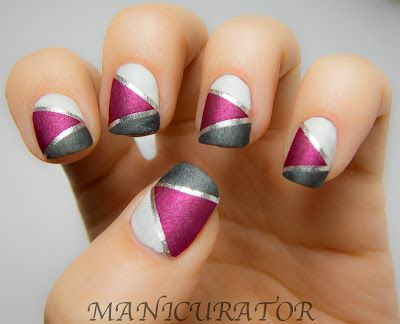 : Colors Combos, Matte Nails, Nails Art, Nailart, Nails Design, Silver Nails, April Shower, Matte Magic, May Flowers