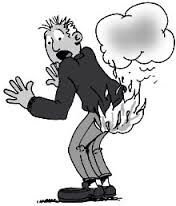Wie zijn billen brandt, moet op de blaren zitten -- Als je iets doms doet, moet je de gevolgen dragen (liefst zonder klagen).