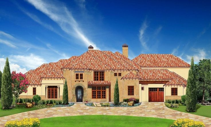 10 best images about estate size home plans on pinterest for Luxury mediterranean villas