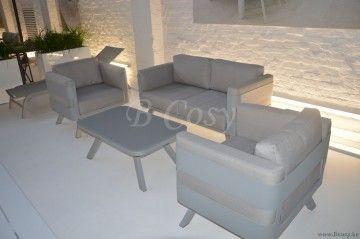 Gescova Azur Ferretti Ensemble lounge salon de détente jardin ...