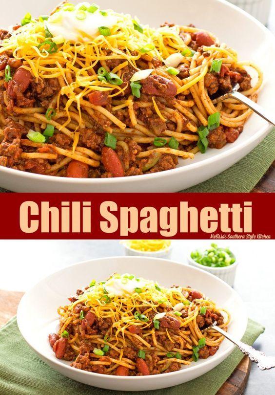 Chili Spaghetti