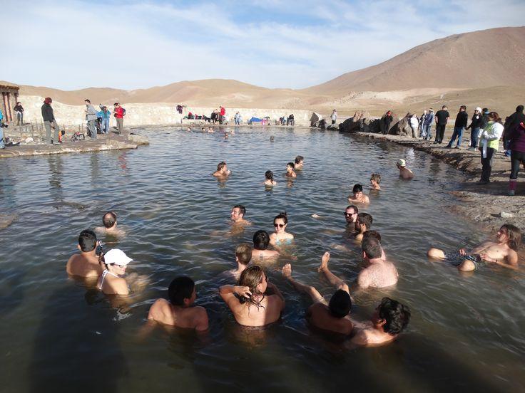 Ein Thermalbad in den Termas bei El Tatio ist rundum entspannend.