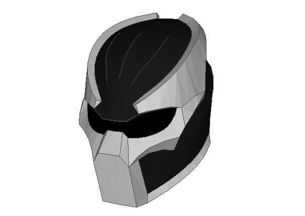 Life Size Predator Helmet Papercraft Free Download - http://www.papercraftsquare.com/life-size-predator-helmet-papercraft-free-download.html#Helmet, #LifeSize, #Predator
