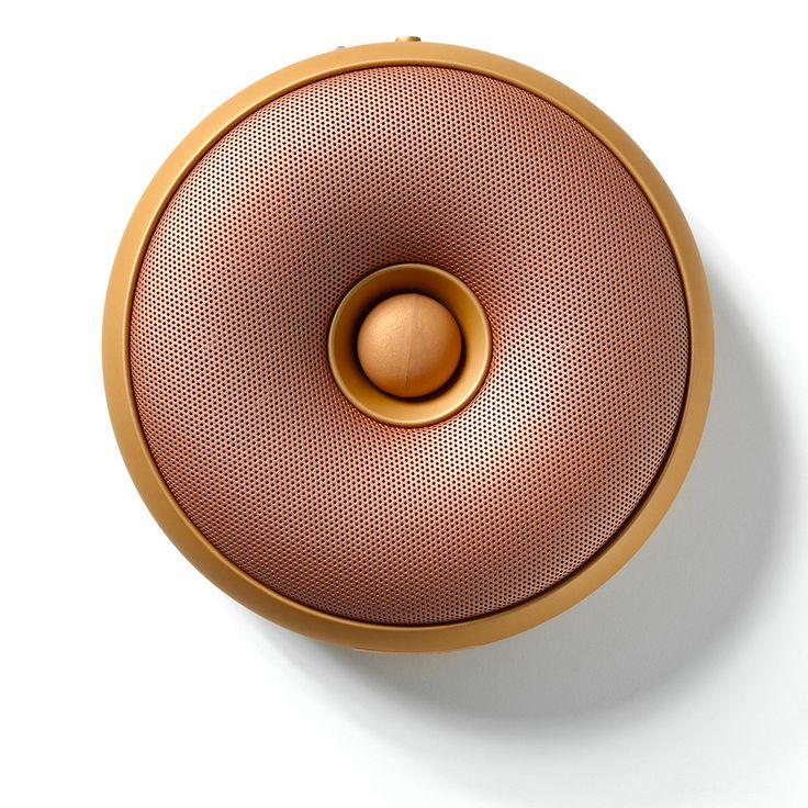 The Design Gift Shop - LEXON   Bluetooth Speaker   Hoop LA95 Copper, $169.00 (http://www.thedesigngiftshop.com/lexon-bluetooth-speaker-hoop-la95-copper/)