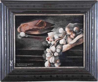 A. Wachsman - Zátiší s česnekem 1942 /galerie Pardubice