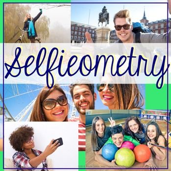Geometry Selfie Project   Looking for a way to assess or reinforce what your High School Geometry students have learned? This great project combines Geometry with the pop culture craze of The Selfie!  $