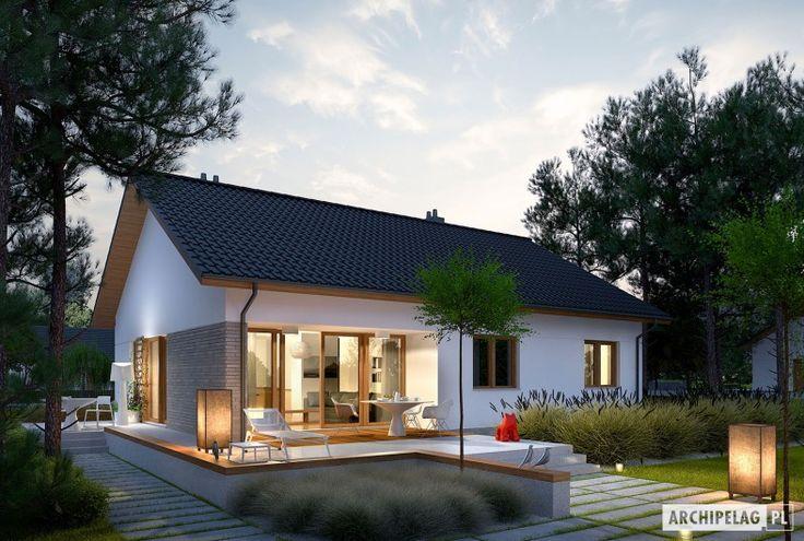 Projekty domów ARCHIPELAG - Swen II