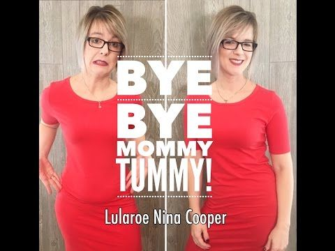 Say goodbye to mommy tummy with this simple trick - LuLaRoe - YouTube