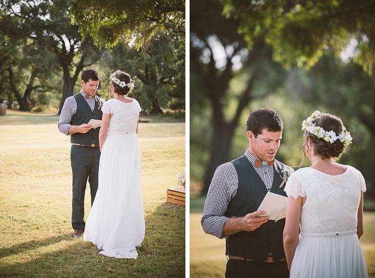 Bohannah & Tye - Margaret River Wedding.