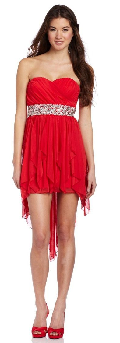All About Red Dresses For Juniors