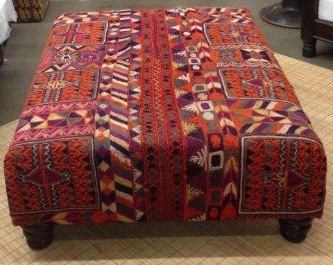 Made From An Antique Indian Rug This Is A Beautiful Piece