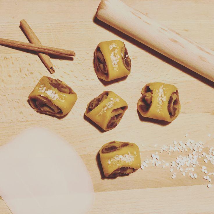Korvapuusti, cinnamon roll, Japanese sweets, konashi