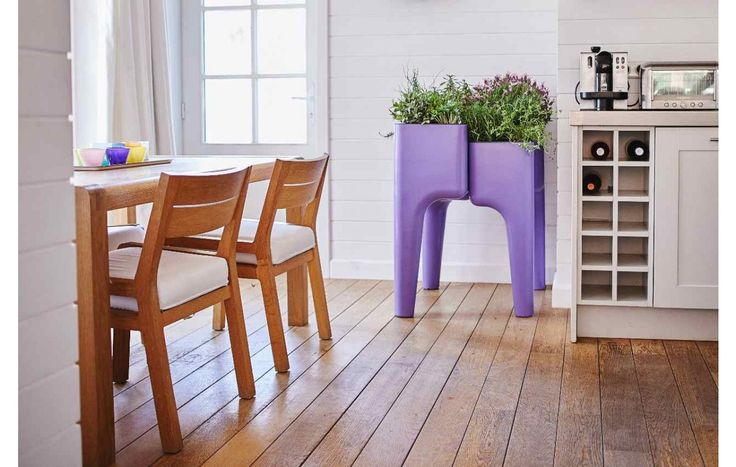 "Hurbz ""KIGA"" kitchen & Garden plantenbak Lavendel (SMALL)"