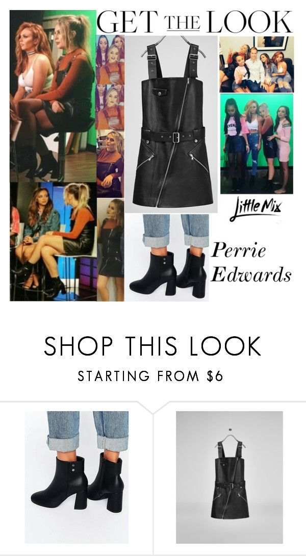 """Perrie Edwards Little Mix Promo Day In New York February 24, 2016"" by valenlss ❤ liked on Polyvore featuring ASOS"