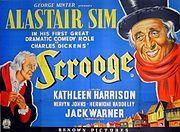 Scrooge – 1951 UK film poster.jpg