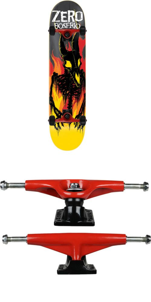 Other Skate- and Longboarding 16265: Zero Skateboard Complete From Hell Impact Light Boserio 8.375 Tensor Assembled -> BUY IT NOW ONLY: $87.95 on eBay!