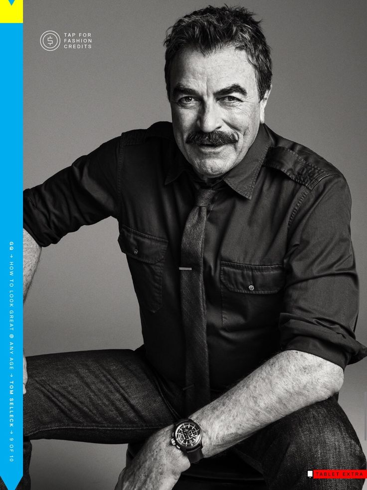 Tom Selleck For GQ                                                       …