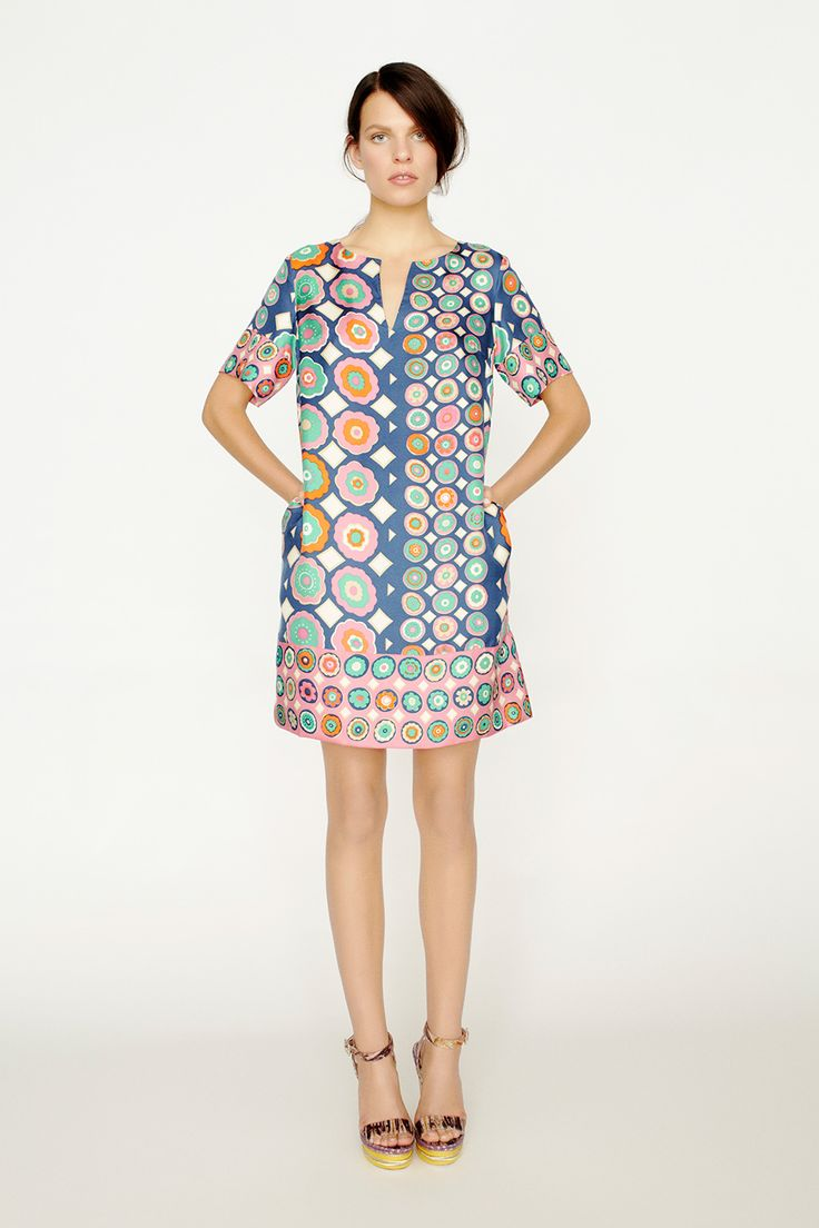 collette by Collette Dinnigan Relaxed Fit Silk Kaftan