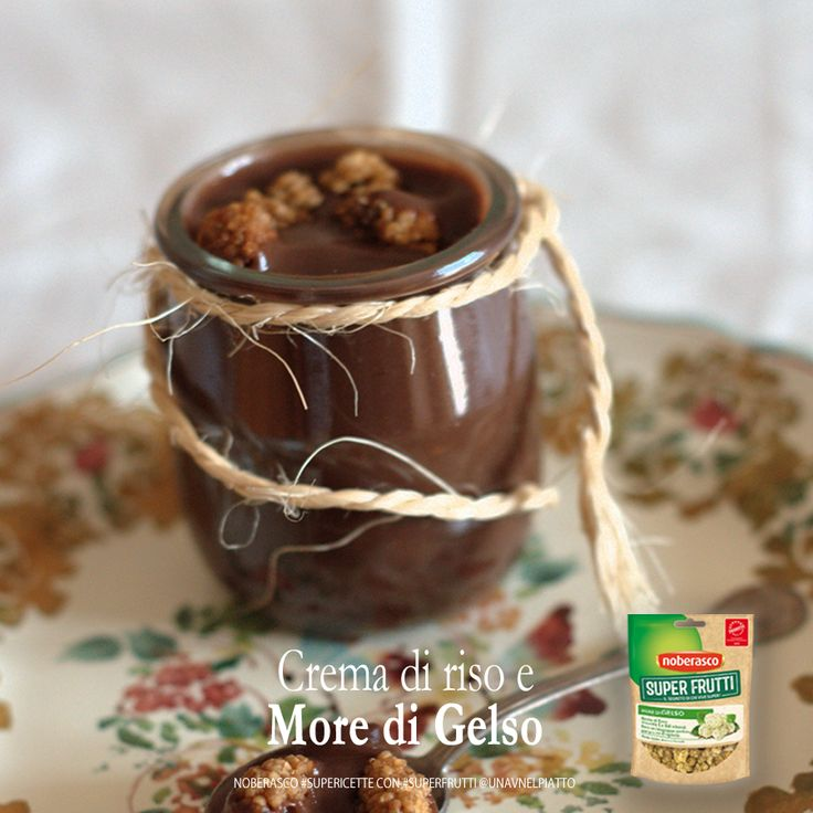 #yesweveg! riso, cacao, granella di nocciole e more di gelso: oggi siamo golosi! @unavnelpiatto